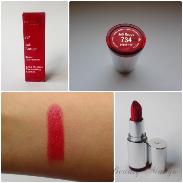 Red Friday #1 Clarins Poppy Red