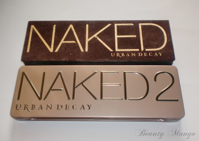 [Vergleich] Urban Decay Naked 1 vs. Naked 2