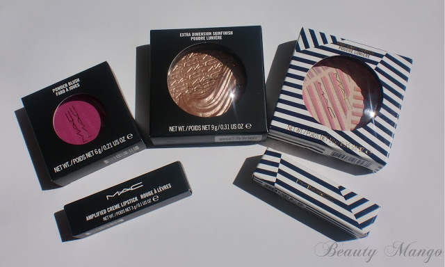 Mac Reel Sexy, Extra Dimension & Hey Sailor Haul