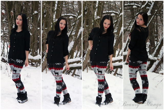 [Outfit] Winter auf der Leggings