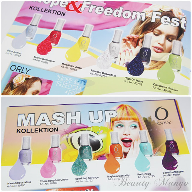 Orly Hope & Freedom Fest + Mash Up Collections Spring 2013