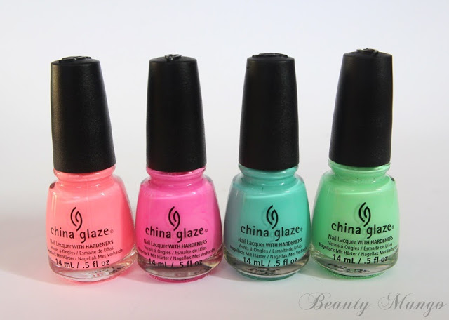 China Glaze Sunsational Summer 2013