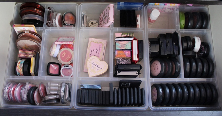 Schminktisch Ikea Aufbewahrung ~ Und in der 3 Schublade habe ich meine Primer, Foundations & BB Creams