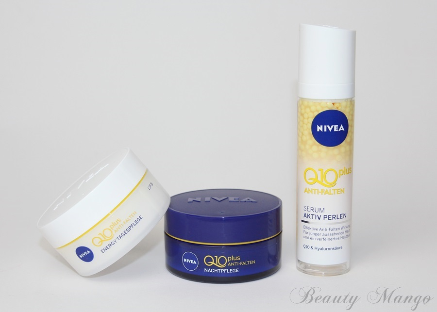 [Review] Nivea Q10 plus Anti-Falten + Giveaway