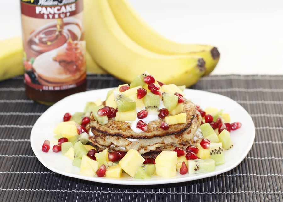 [Rezept] Healthy Banana Pancakes