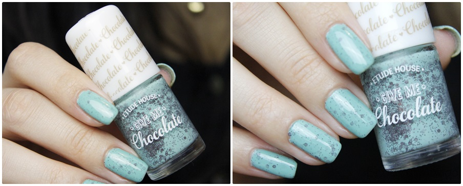 NotD Etude House Mint Choco Chip