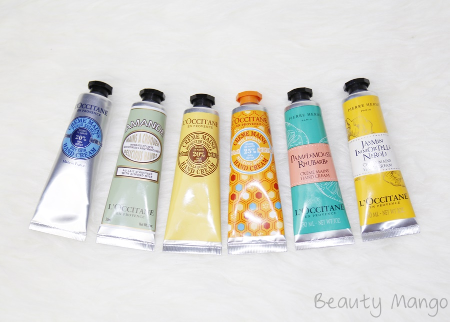 Review L'Occitane Handcremes