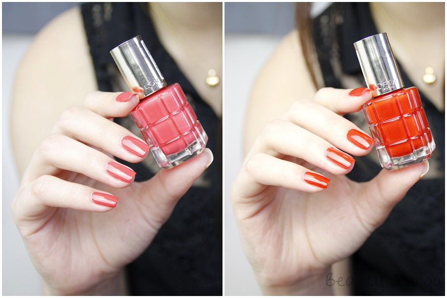 L'oréal Paris Color Rich Le Vernis Chérie Macaron - Orange Triomphe