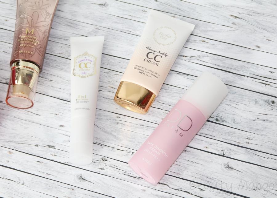 Der Unterschied zwischen BB, CC und DD Cream