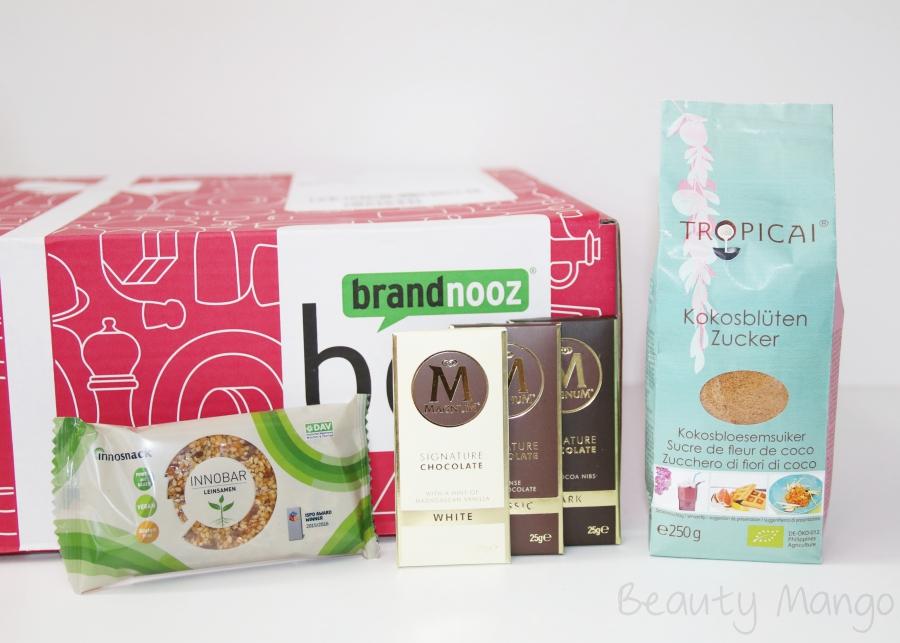 Brandnooz Genuss Box Oktober 2016