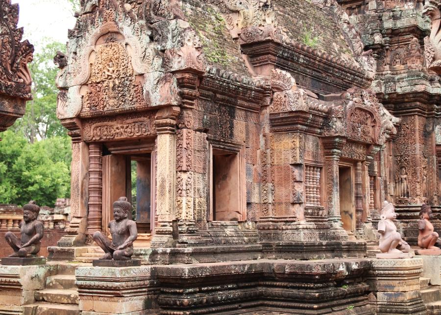 Banteay Srei ប្រាសាទបន្ទាយស្រី