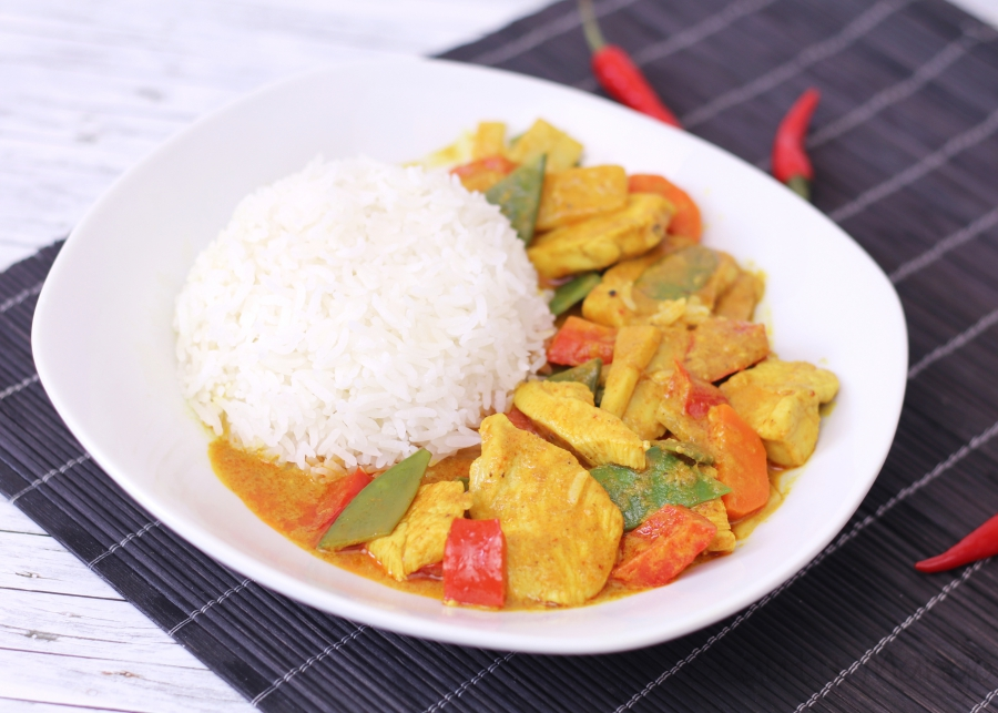 [Rezept] Yellow Thai Curry
