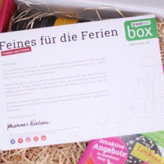 brandnooz Genuss Box Juli 2017