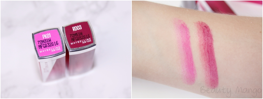 Maybelline Color Sensational Lip Flush Bitten Lips