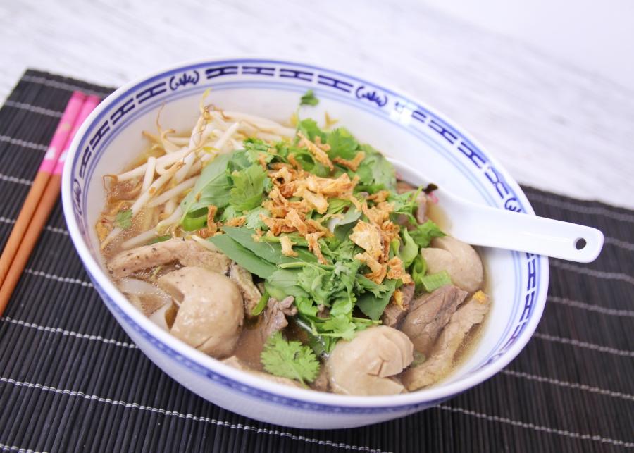 [Rezept] Guay Tiew ก๋วยเตี๋ยว (Thailändische Nudelsuppe)
