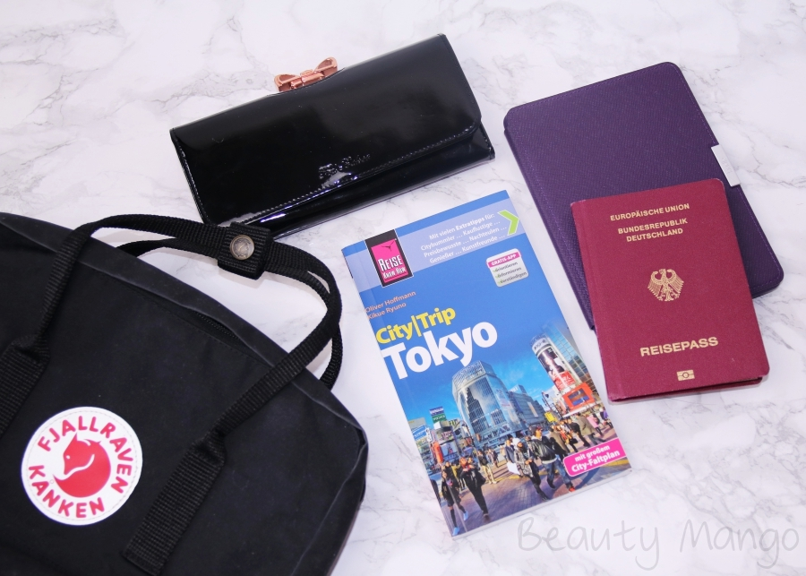 Japan – What's in my Travel Bag