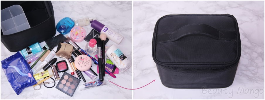My MUJI Travel Beauty Bag