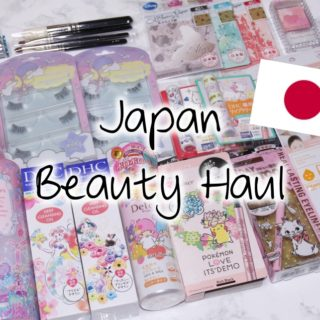 Japan Beauty Haul