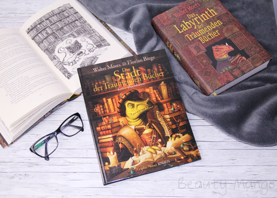 [Rezension] Die Stadt der träumenden Bücher Graphic Novel