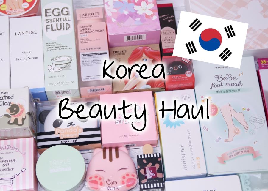 [Video] Korea Beauty Haul