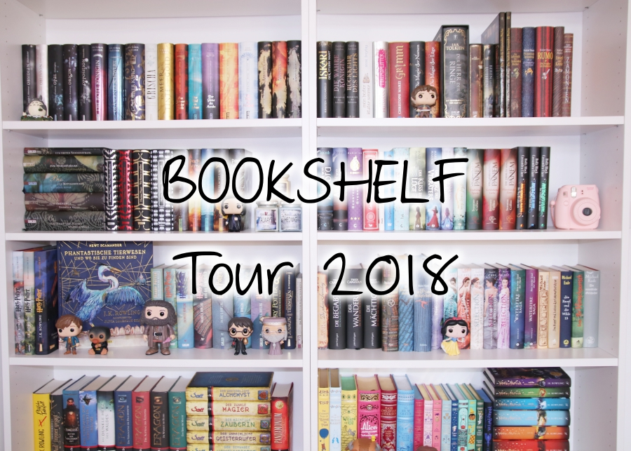 [Video] Bookshelf Tour 2018 Part 2