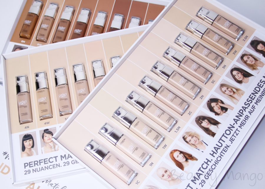 [Review] L'Oréal Perfect Match Foundation