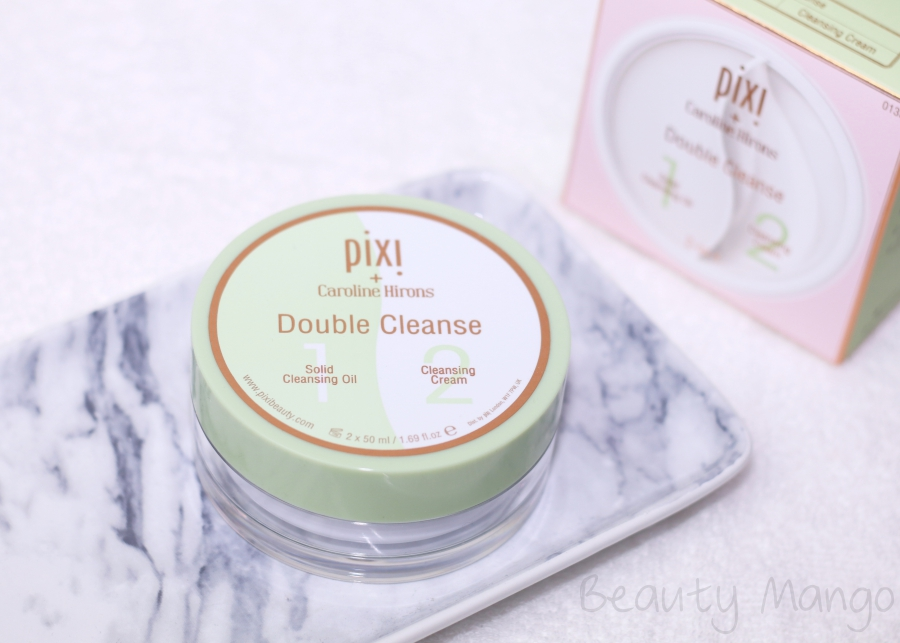 review pixi double cleanse beauty mango. Black Bedroom Furniture Sets. Home Design Ideas